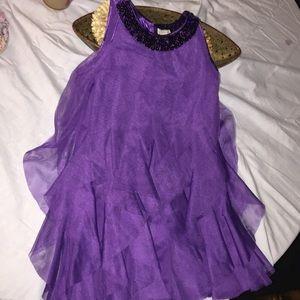 Pretty purple party dress goes girls 6T